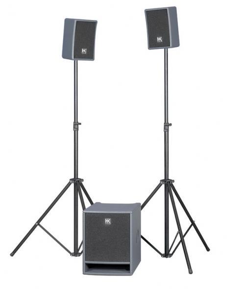 <p>LUCASSMART-PACK - Lucas Smart XT ActiveSystem included Add On Speaker stands ( Model Expo incl. warranty ) <br /></p>