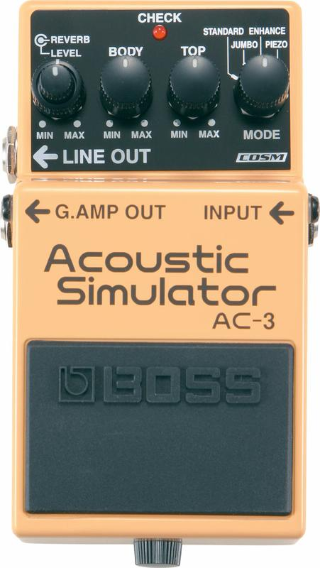 <p>AC-3 - Acoustic Simulator Effect Pedal<br /></p>
