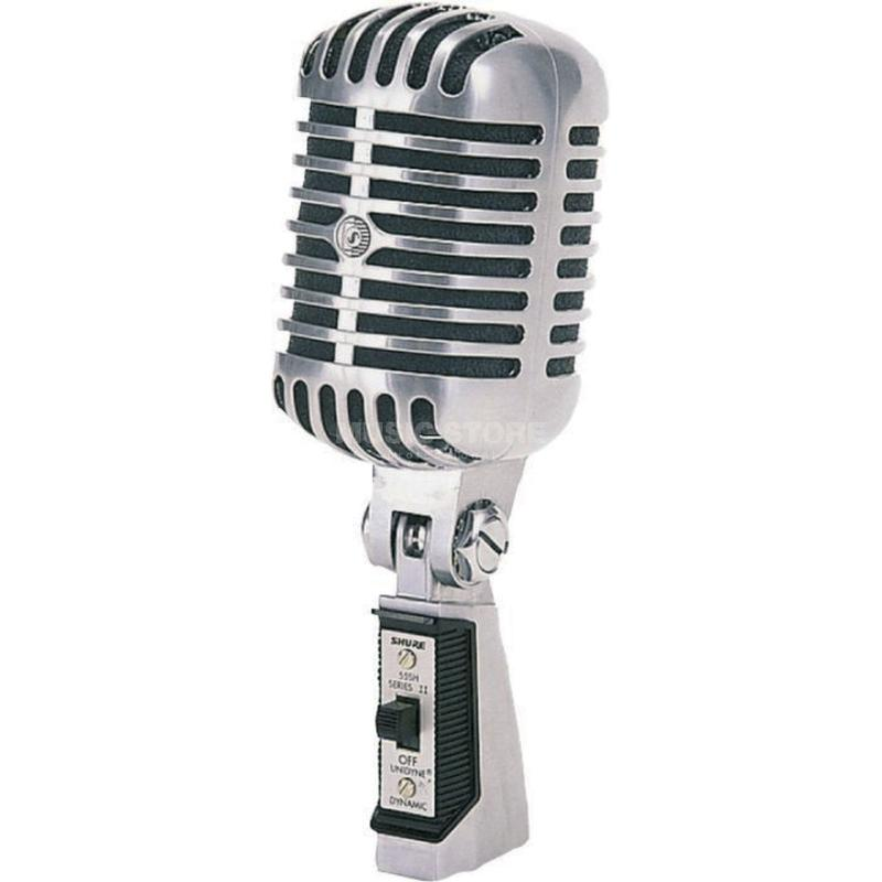 <p>55SHII - 55SH Series II Unidyne&amp;<br>174; Vocal Microphone (Elvis style)<br /></p>