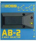 <p>AB-2 - 2-way selector footswitch<br /></p>