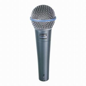 <p>BETA58A - Dynamic Supercardioid Vocal Microphone<br /></p>