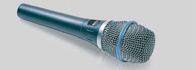 Condenser Supercardioid Vocal Microphone