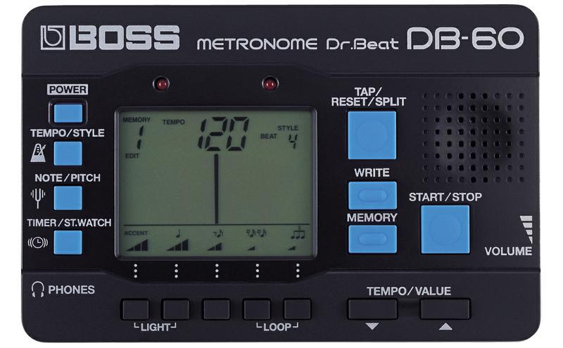 <p>DB-60 - Dr Beat Metronome<br /></p>