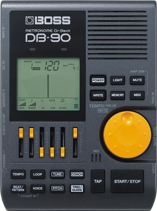 <p>DB-90 - Professional Metronom<br /></p>