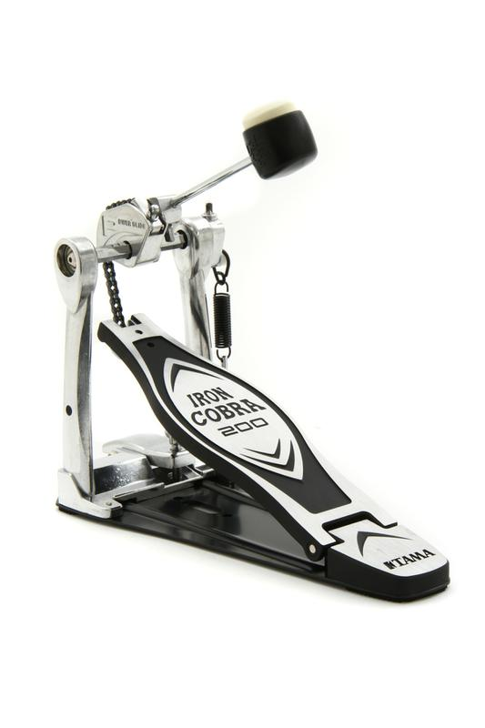 <p>HP200P - Single Bassdrumpedal  Iron Cobra Serie 200 Powerglide<br /></p>