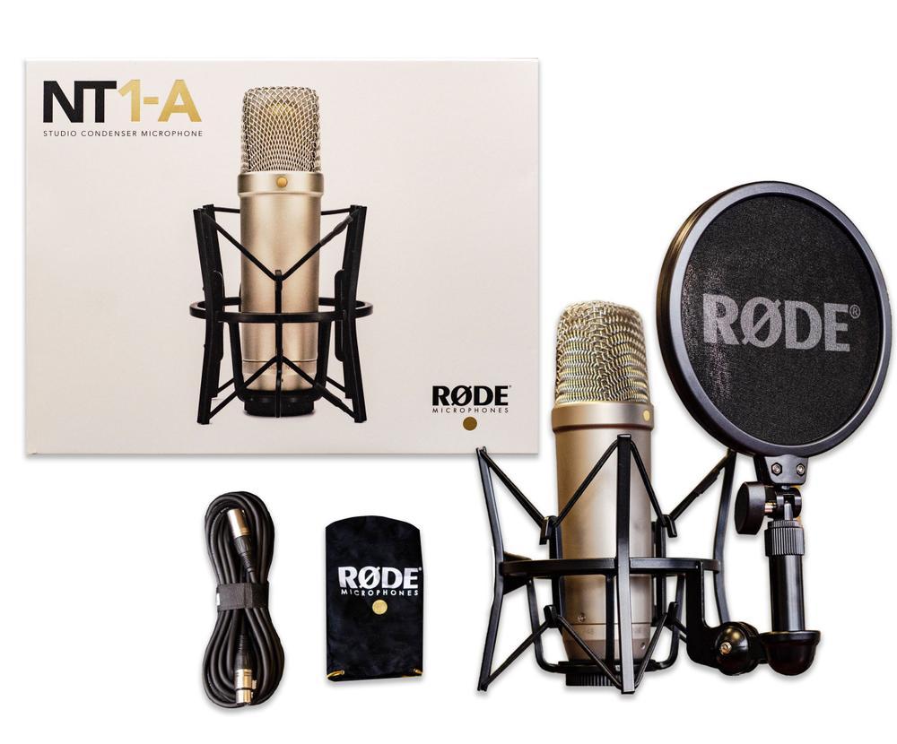 <p>NT1-A SET - Universal studio condenser microphone Pack<br /></p>