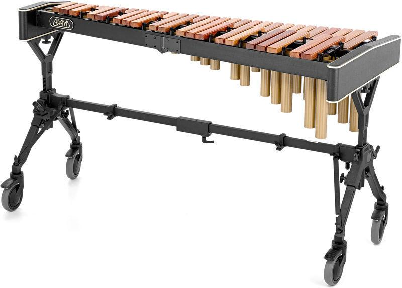 <p>2XFS2HRV35 - Solist Xylophone XS2HV35 3.5 oct. (F4-C8) Honduras Rosewood 38 1/2 mm octave tuned<br /></p>