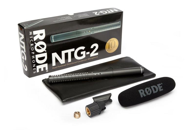 <p>NTG-2 - Directional Condenser Microphone<br /></p>
