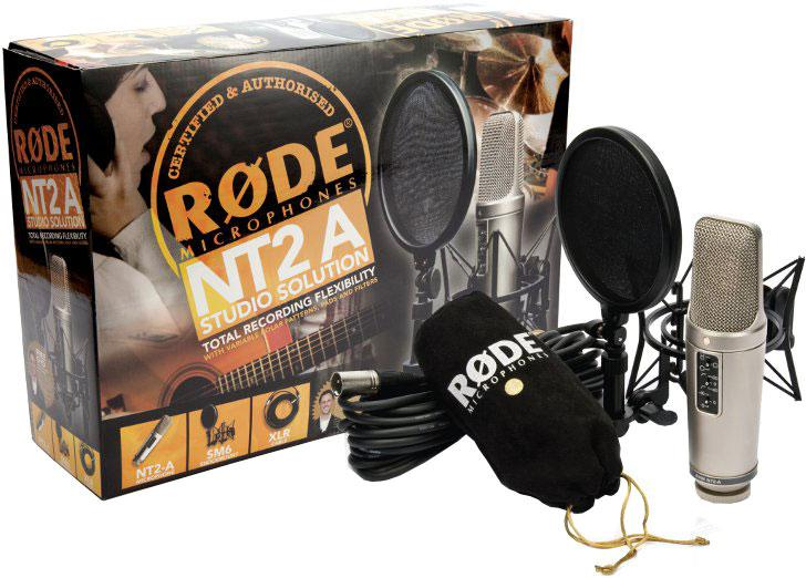 <p>NT2-A STUDIOPACK - Universal condenser microphone Studio Solution Pack<br /></p>
