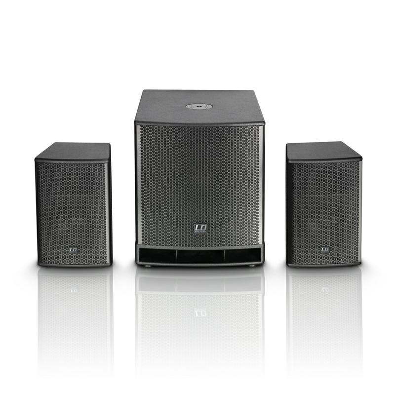 <p>LDDAVE15G3 - DAVE 15G3 Compact 15&quot; powered PA System<br /></p>