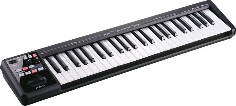 <p>A-49-BK - MIDI Keyboard Controller<br>Black<br /></p>