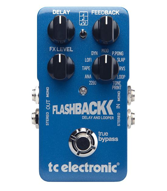 <p>FLASHBACK - Delay Pedal<br /></p>