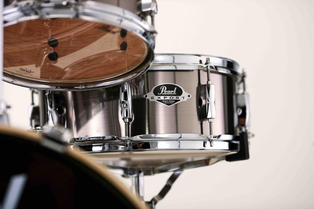 """Pearl Export 14"""" Snare drum  14x5.5"""" Smokey Chrome"""