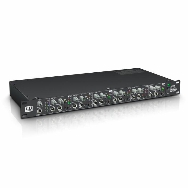 <p>LDHPA6 - 19&quot; Headphone Amplifier 6-channel<br /></p>