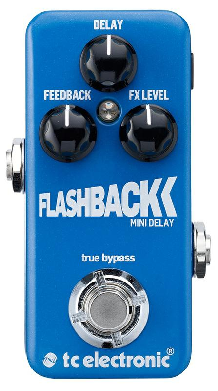 <p>FLASHBACK-MINI-DELAY - Flashback Mini Delay Guitar pedal<br /></p>