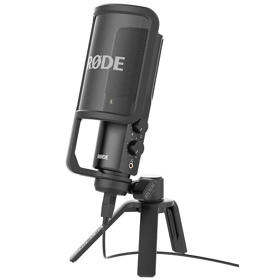 <p>NT-USB - Versatile USB studio quality condenser microphone<br /></p>