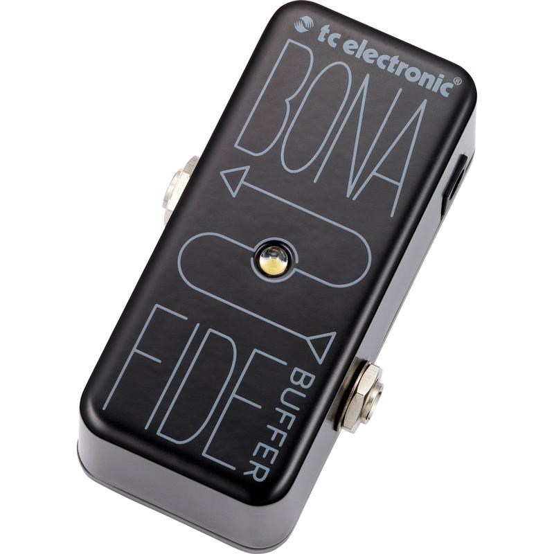 <p>BONAFIDE - TC Electronic BonaFide Mini Buffer Pedal<br /></p>