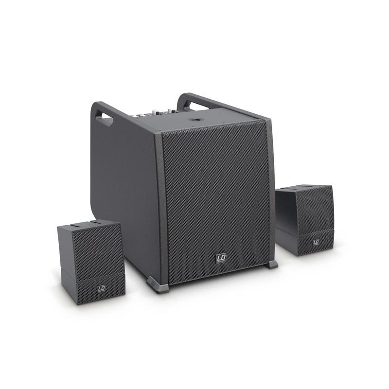 <p>LDCURV500AVS - CURV 500 AVS - Portable Array System AV Set including Speaker Cables<br /></p>