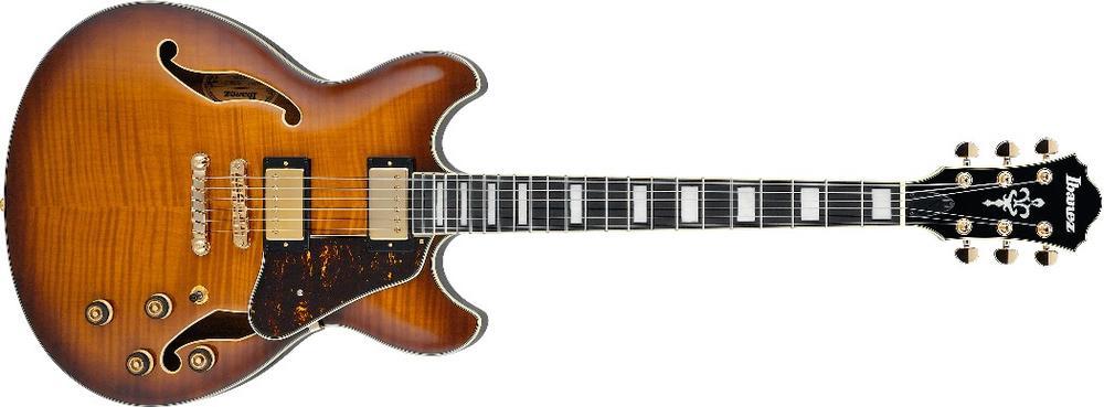 AS93-VLS  Semi-hollowbody Electric Guitar Violin Sunburst ( available June )