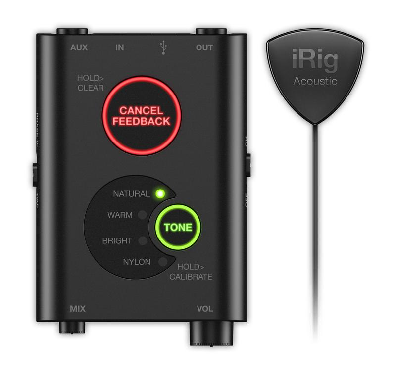 <p>IRIGACOUSTICSTAGE - Advanced digital microphone Pick Up system for acoustic guitar<br /></p>