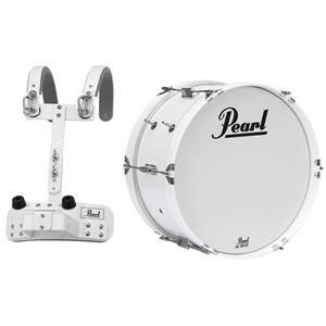 18x8 Junior Series Bass Drum with carrier / MCH-20B Carrier