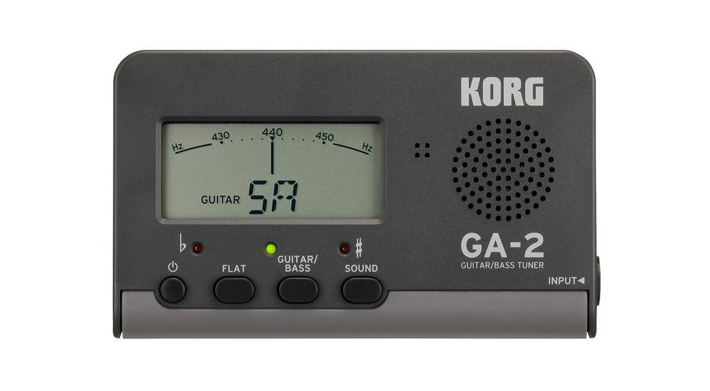 <p>GA2 - GA-2 Guitar+Bass Tuner <br /></p>