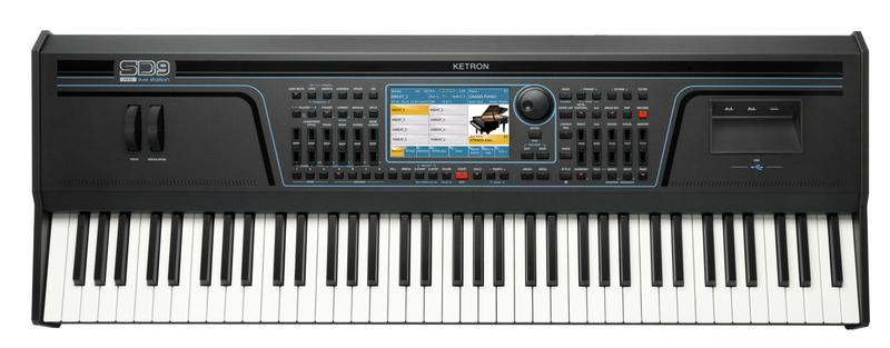 Ketron SD 9 Keyboard - 76 semi-weighted keys ( model expo with full warranty )