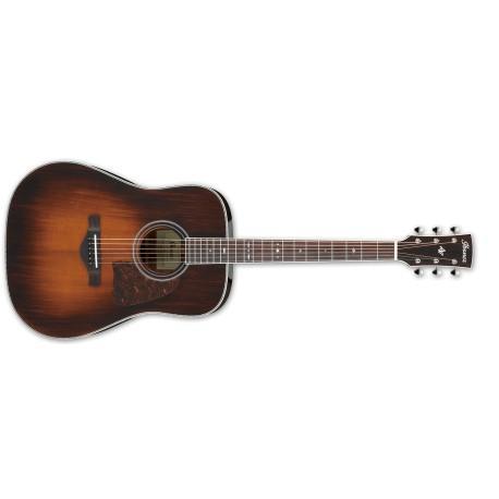 Artwood Vintage Thermo Aged™ Dreadnought E-Acoustic Guitar Brown Violin Sunburst