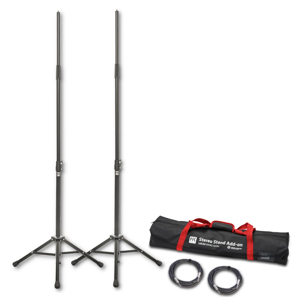 Lucas Nano 305 Addon Package One - Stereo stands + cables + bag