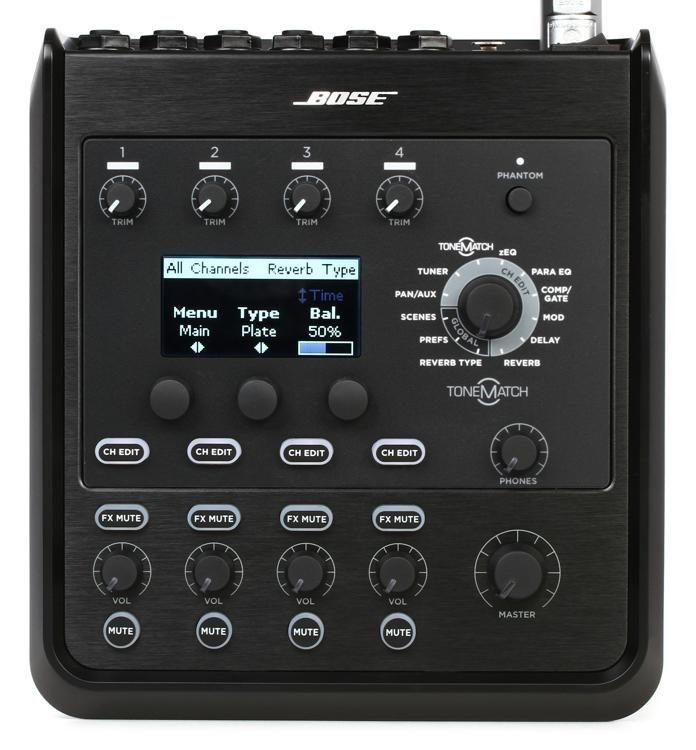 <p>T4S - ToneMatch Mixer T4S - ultra-compact 4-channel interface <br /></p>