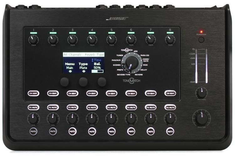 <p>T8S - ToneMatch Mixer T8S - ultra-compact 8-channel interface<br /></p>
