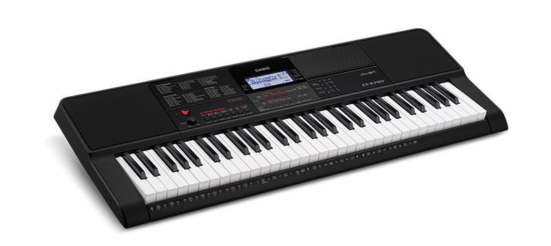 <p>CT-X700 - CT-X700 Lightweight portable keyboard<br /></p>