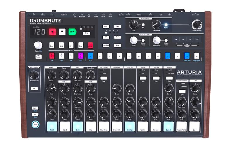 DrumBrute, PURE ANALOG BEATS