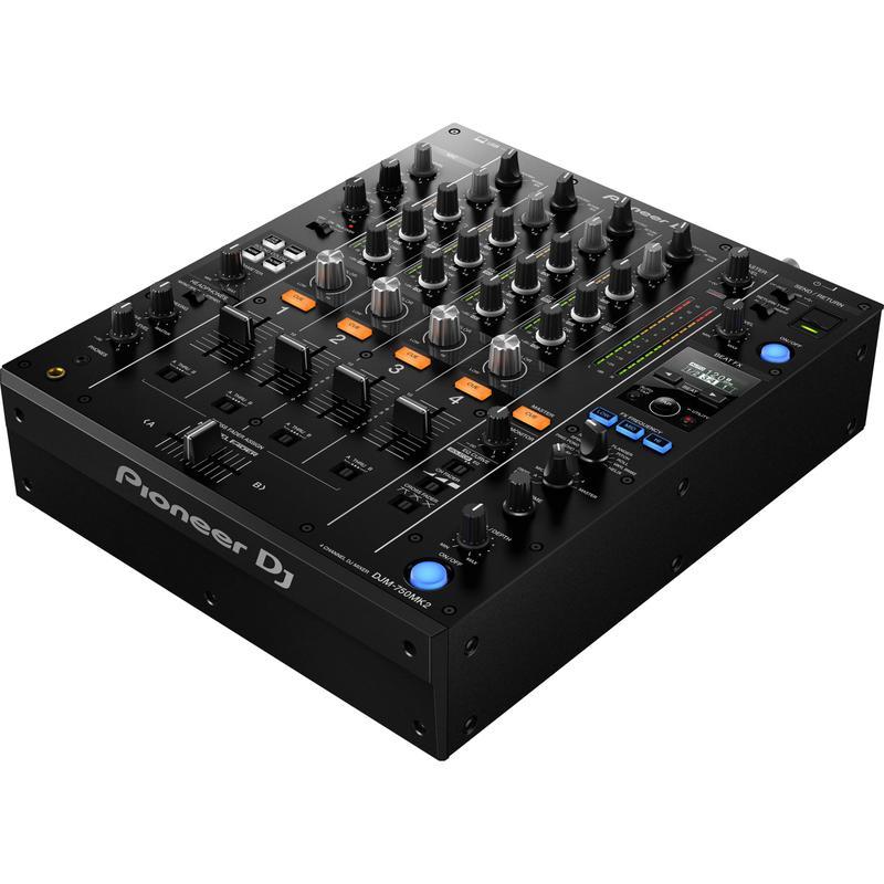 <p>DJM-750MK2 - 4 Channel Mid-Range Digital Mixer (Black)<br /></p>