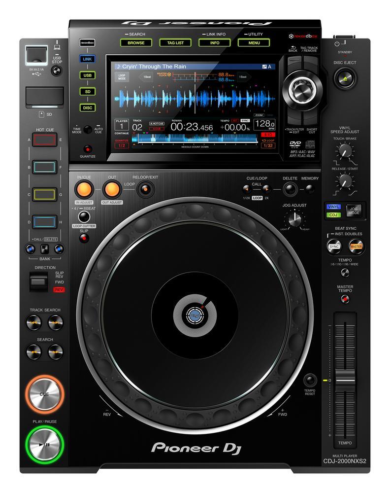 <p>CDJ-2000NXS2 - Pro Grade Digital DJ Deck<br /></p>