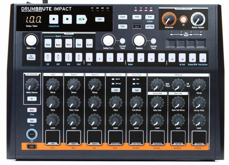 DrumBrute Impact, Analog Drum Machine