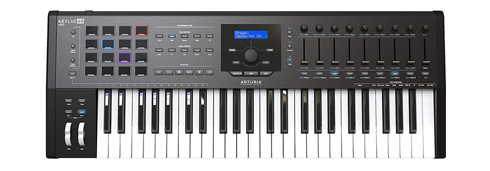 KeyLab MKII 49 Midi Keyboard Controller #Black