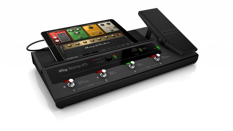 <p>IRIGSTOMP I/O - First stompbox guitar interface for iPhone/iPod touch/iPad<br /></p>