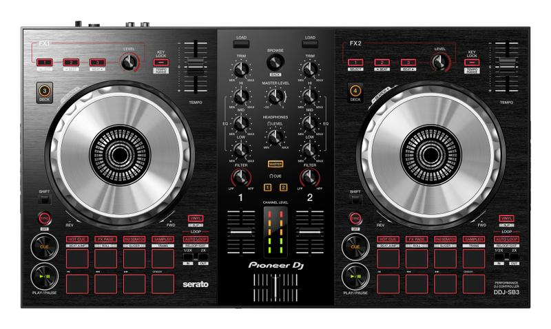 <p>DDJ-SB3 - 2 Channel DJ Rekordbox Controller<br /></p>