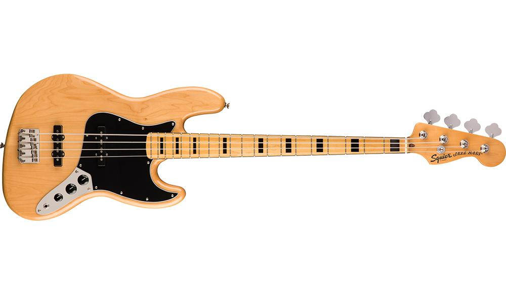 <p>030-6702-521  - Vintage Modified Jazz Bass&amp;<br>174; '70s, Maple Fingerboard, Natural<br /></p>