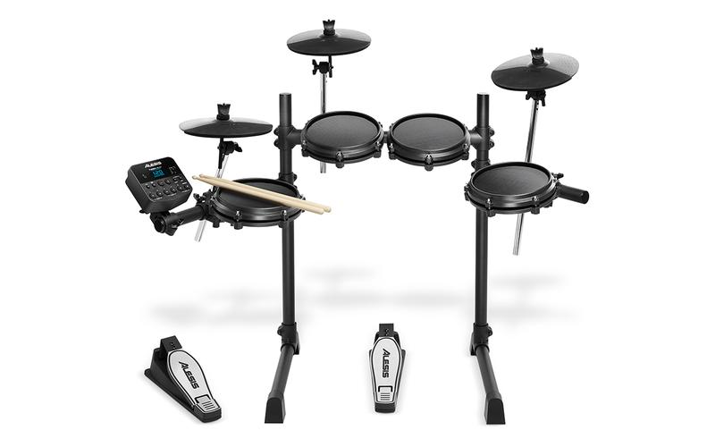 <p>Turbo Mesh Kit - Seven-Piece Electronic Drum Kit With Mesh Heads<br /></p>