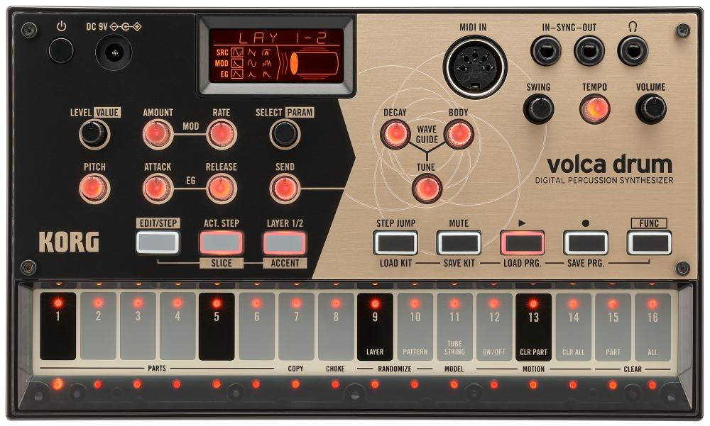 <p>VOLCA-DRUM - Digital Percussion Synthesizer<br /></p>