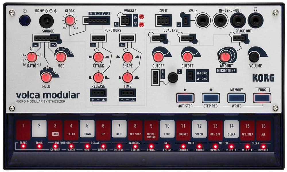 <p>VOLCA-MODULAR - Micro Modular Synthesizer<br />(available march 2019)<br /></p>