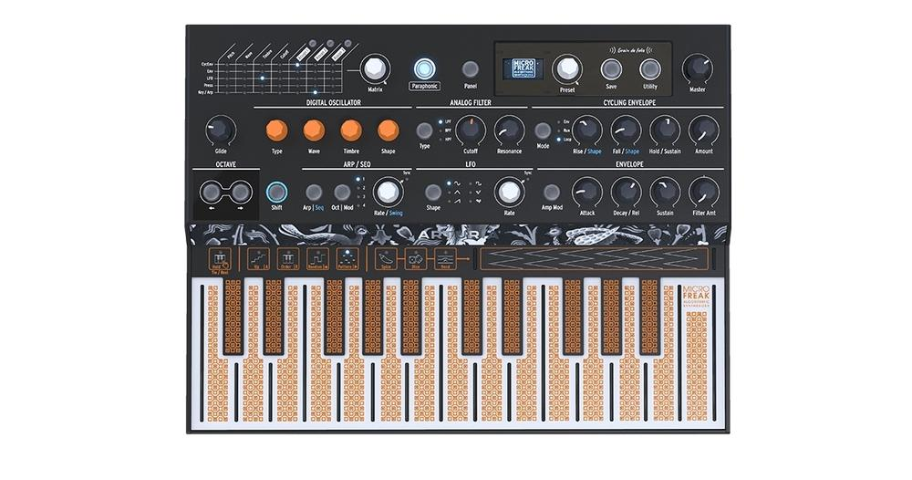 <p>MICROFREAK - Microbrute Monophoner Analog Synthesizer<br />(available soon)<br /></p>