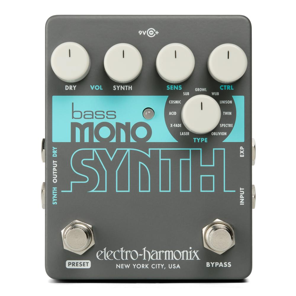 <p>BASS MONO SYN - Bass Monophonic Synthesizer, 9.6DC-200 PSU included<br /></p>