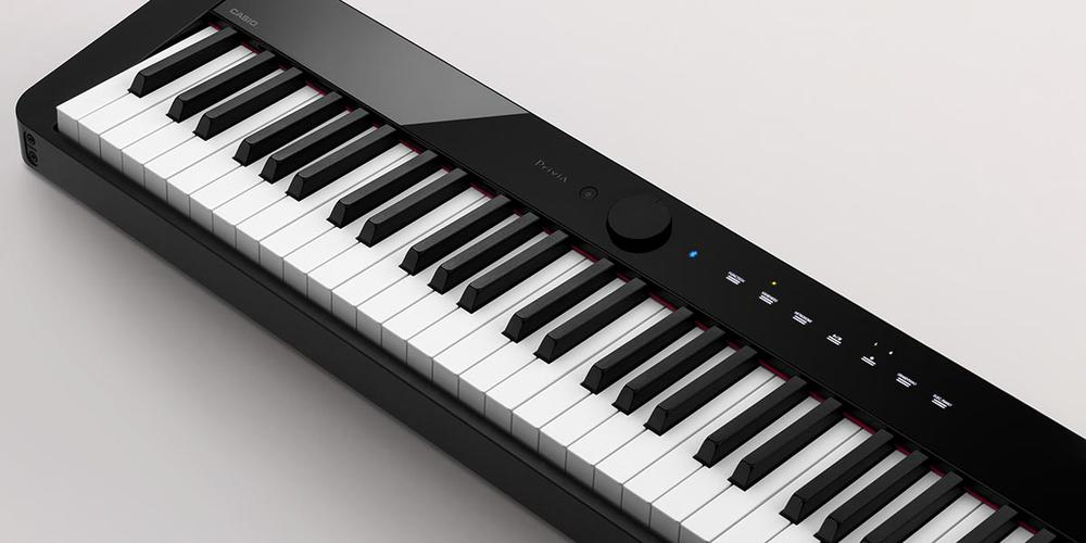 Smart Scaled Hammer Action Digital Piano #Black