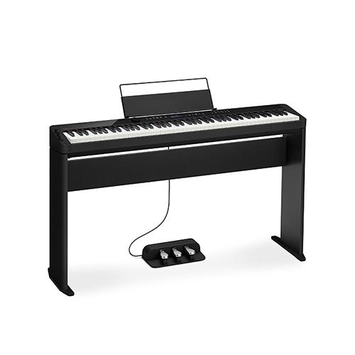 Smart Scaled Hammer Action Digital Piano Black