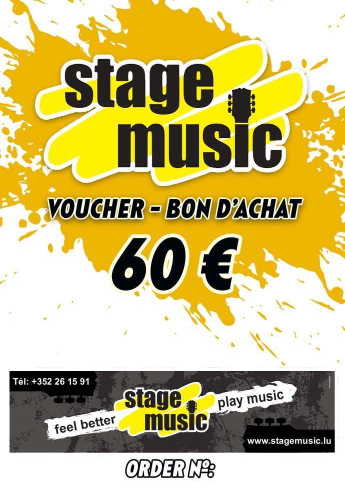 Voucher - Bon d'achat 60.- euro
