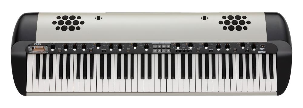 Digital Vintage Piano with speakers SV2-73S - white metallic