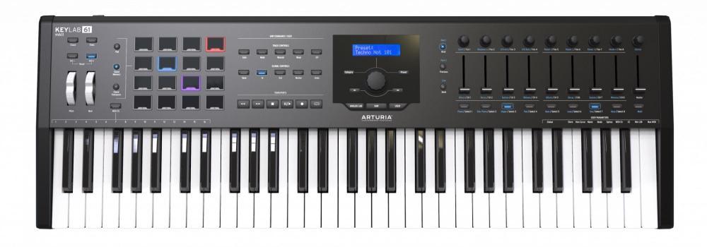 KeyLab MK2 61 Midi Keyboard Controller #Black
